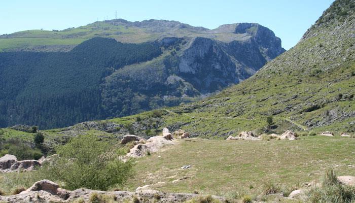 Carranza, parque natural Armañón