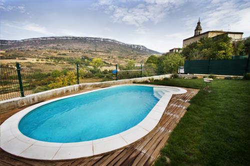 piscina agroturismo areta etxea en Alava