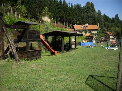 Exterior agroturismo Iturbe en Bizkaia