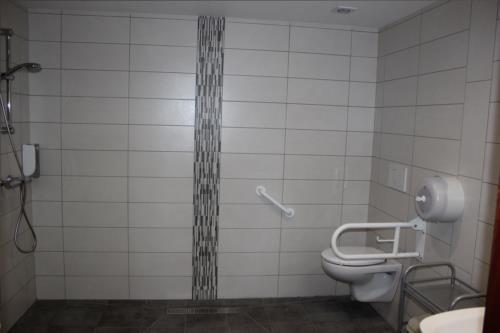 baño 2 casa rural Gure Ametsa en Gipuzkoa