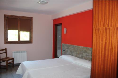 habitación doble 4 casa rural Gure Ametsa en Gipuzkoa