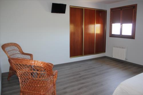 habitación doble 1 casa rural Gure Ametsa en Gipuzkoa