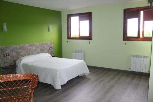 habitación doble casa rural Gure Ametsa en Gipuzkoa
