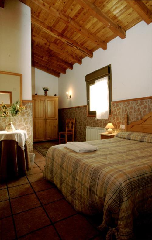 habitación doble 1 agroturismo Agerre Goikoa en Gipuzkoa