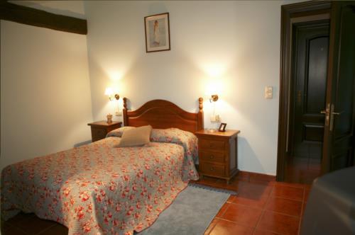 habitación individual agroturismo montefrio en gipuzkoa