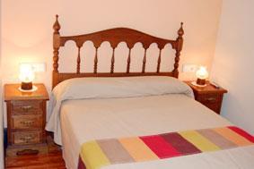 habitación doble 1 agroturismo Lizargarate en Gipuzkoa