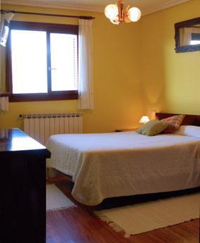 habitación doble 2 agroturismoa Lizargarate en Gipuzkoa