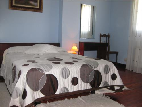 habitación doble 4 agroturismo Lizargarate en Gipuzkoa