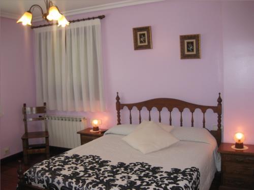 habitación doble 3 agroturismo Lizargarate en Gipuzkoa