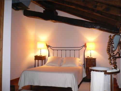 habitación doble 1 agroturismo Lazkao Etxe en Gipuzkoa