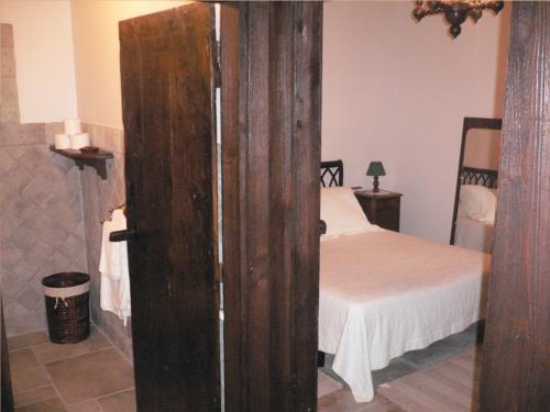 habitación doble agroturismo Lazkao Etxe en Gipuzkoa