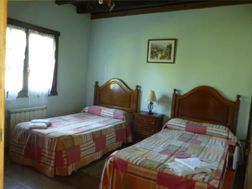 habitación doble 9 agroturismo kerizara en Vizcaya