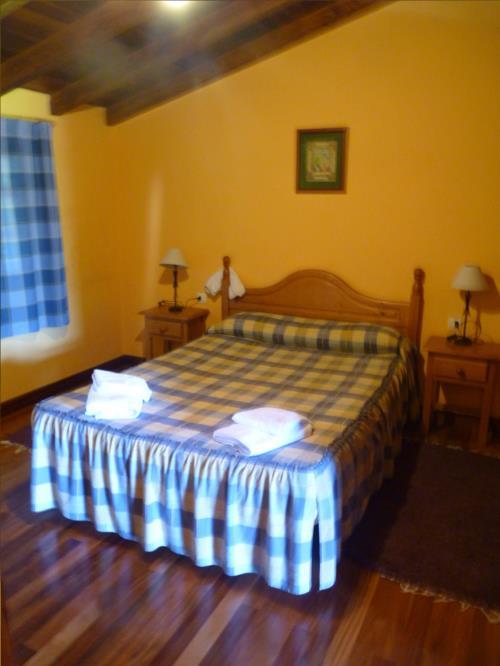habitación doble 3 agroturismo kerizara en Vizcaya