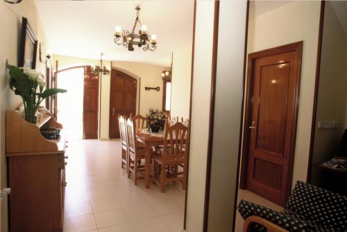 Comedor casa rural Arribeiti-Zarra en Bizkaia