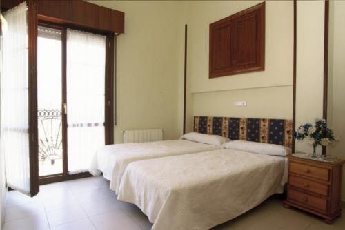 Habitación doble 2 casa rural Arribeiti-Zarra en Bizkaia