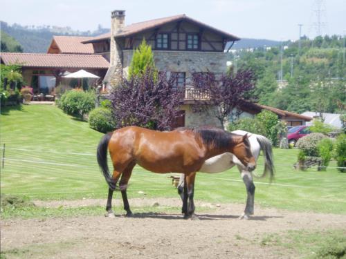 animals country house erdikoetxe in Bizkaia