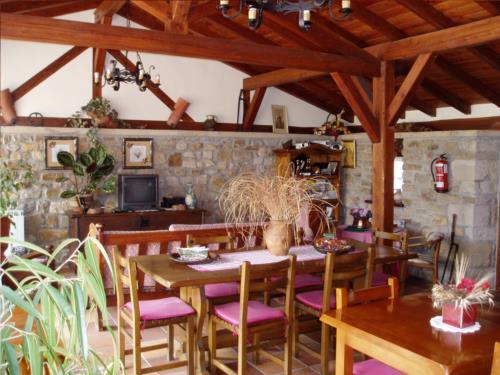 Comedor casa rural Erdikoetxe en Bizkaia