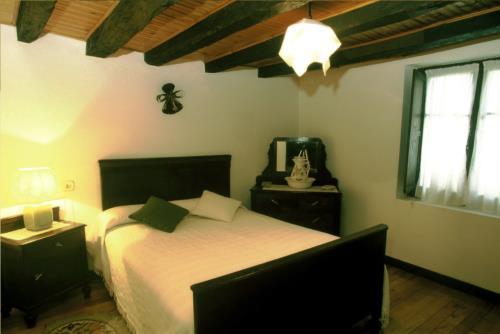 habitación doble 1 casa rural monte baserria en Vizcaya