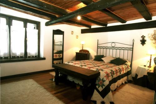 habitación doble casa rural monte baserria en Vizcaya