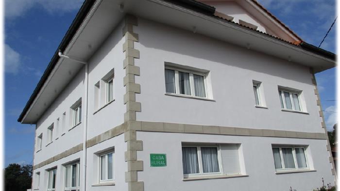 fachada casa rural itxas ertz en Vizcaya