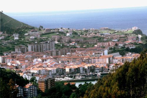 paisaje casa rural itxas ertz en Vizcaya