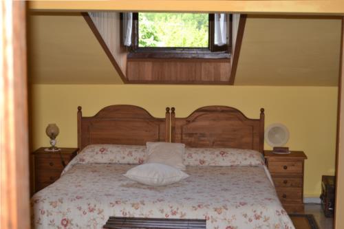 double room farm house gorbea bide in Alava