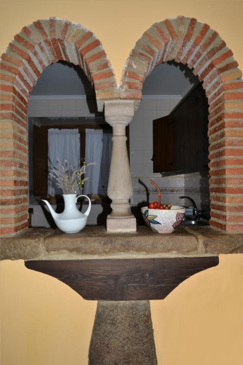 inside farm house gorbea bide in Alava