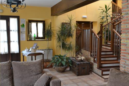 living room farm house gorbea bide in Alava