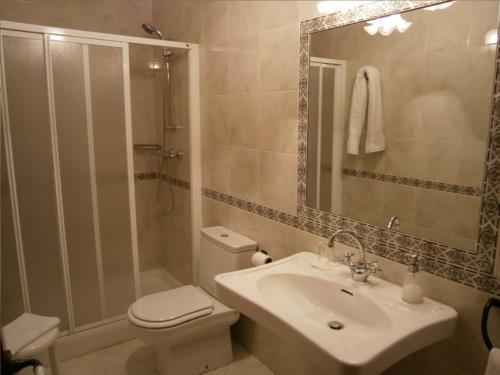 baño casa rural Anduri Baserria en Gipuzkoa