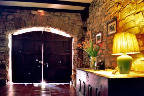 entrada casa rural Anduri Baserria en Gipuzkoa