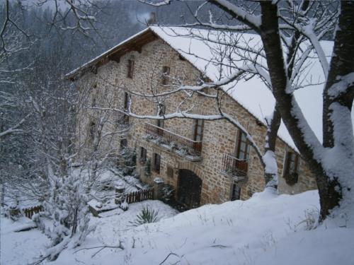 fachada 2 casa rural Anduri Baserria en Gipuzkoa