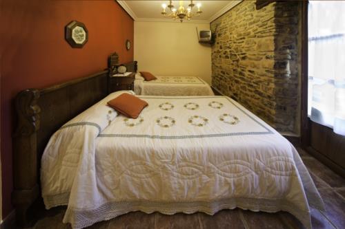 habitación doble casa rural Anduri Baserria en Gipuzkoa