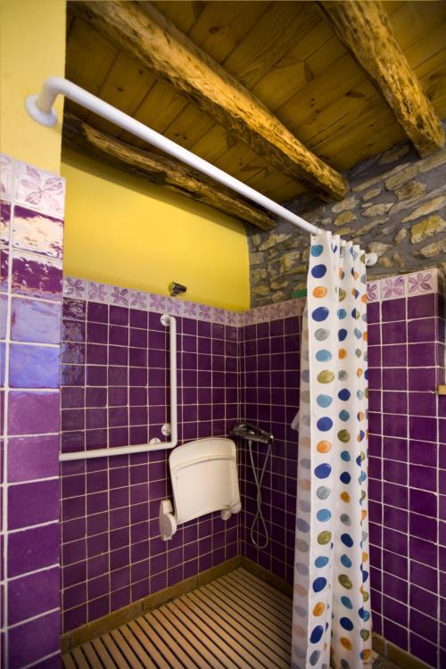 Baño 1 agroturismo Lamaino Etxeberri en Gipuzkoa