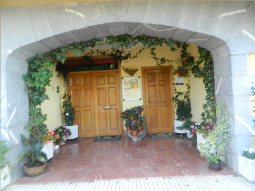 entrada casa rural begoña en gipuzkoa