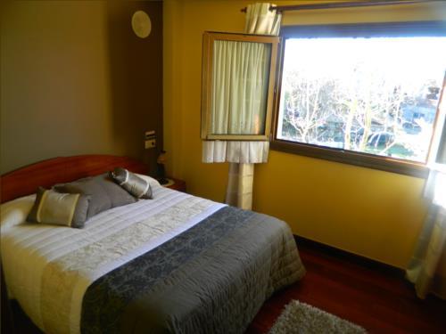 habitación doble casa rural begoña en gipuzkoa