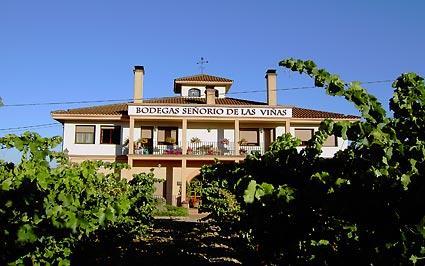 fachada 2 agroturismo señorío de las viñas en Alava