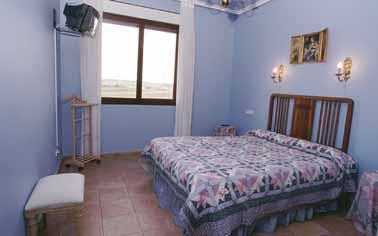 habitación doble 1 agroturismo señorío de las viñas en Alava