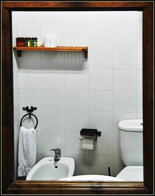 baño agroturismo Zelai-Eder en Gipuzkoa
