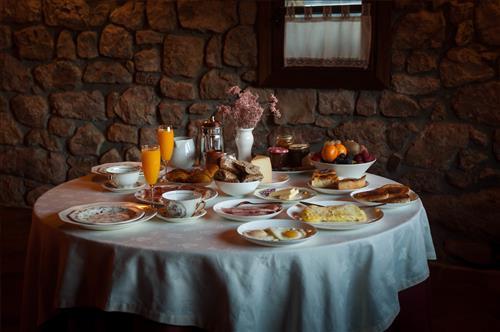 Desayunos con productos ecologicos de la zona