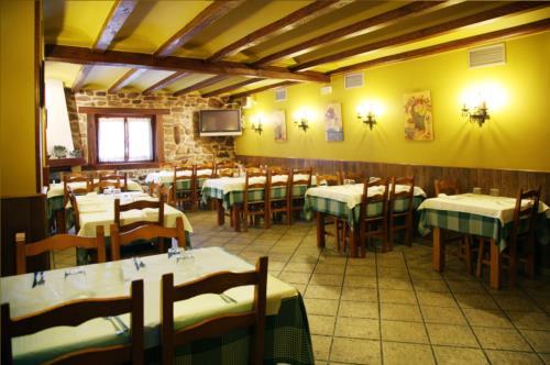 dining room country house barazar in Gipuzkoa
