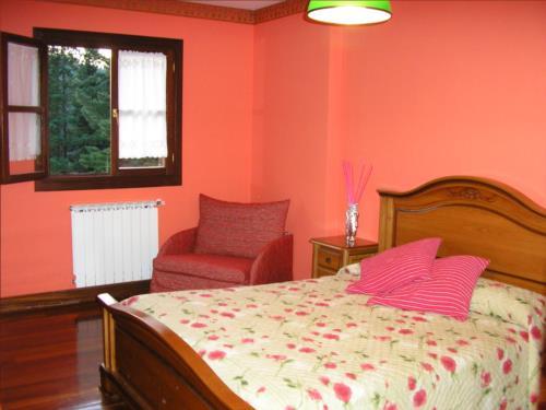 habitación doble casa rural segore etxeberri en gipuzkoa