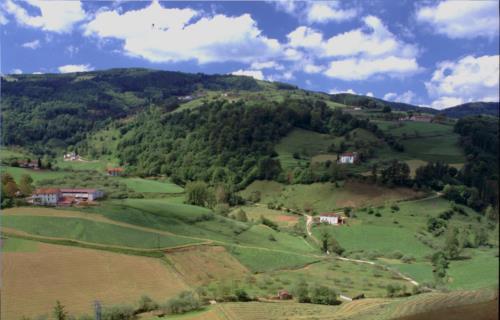 entorno casa rural etxeberri en gipuzkoa