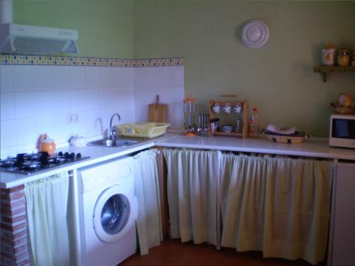 cocina agroturismo Ondarre en Gipuzkoa