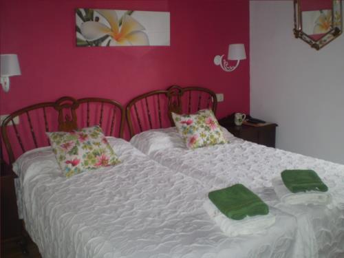 habitación doble 1 agroturismo Ondarre en Gipuzkoa