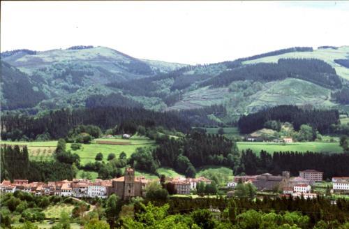 paisaje 2 agroturismo Ondarre en Gipuzkoa