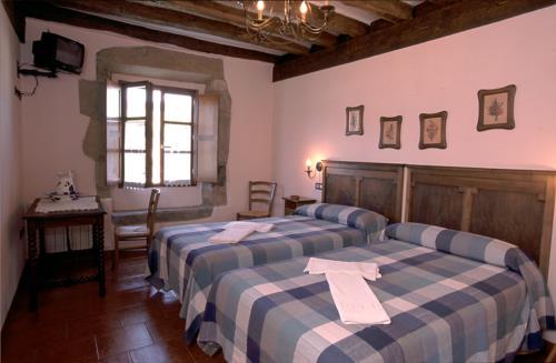 habitación doble agroturismo murueta baserria en Vizcaya