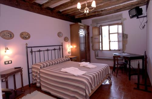 habitación doble 1 agroturismo murueta baserria en Vizcaya