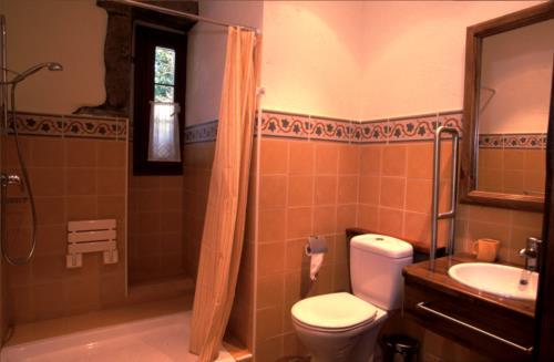 baño casa rural Endara en Gipuzkoa