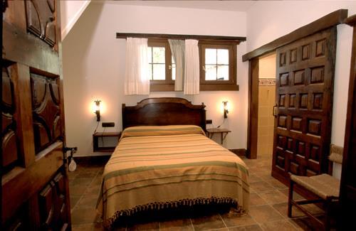 habitación doble casa rural Endara en Gipuzkoa