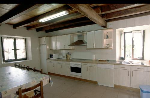 cocina casa rural astorki goikoa en Vizcaya